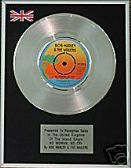 "BOB MARLEY- 7""single - Platinum Disc - NO WOMAN NO CRY"